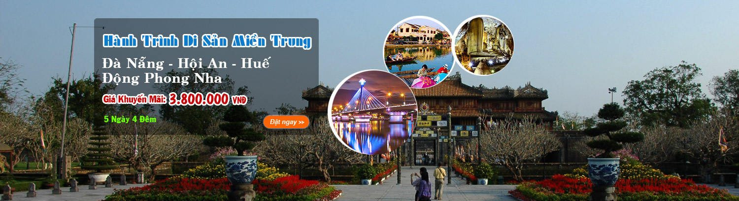 Tour Mien Trung 5 ngay