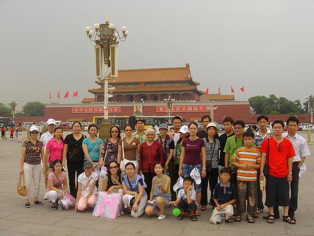Du lich Quảng Trường Thiên An Môn