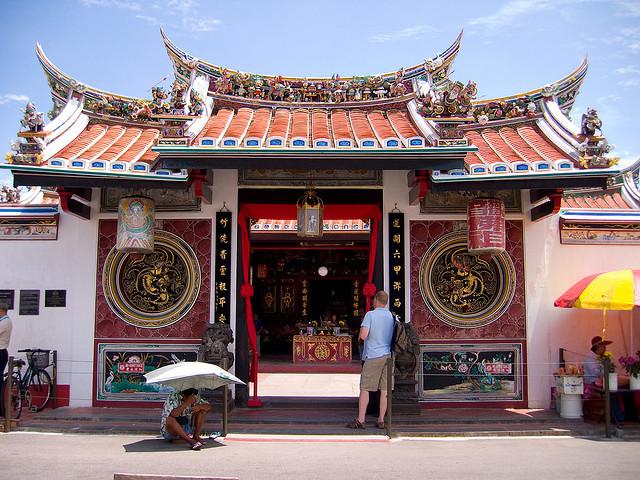 Du lich Đền cổ Cheng Hoon Malacca