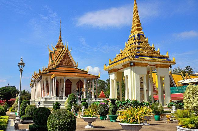 Du lịch Phnompenh, Campuchia
