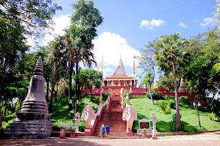 Chùa núi Wat Phnom