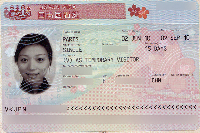 Visa Nhat Ban