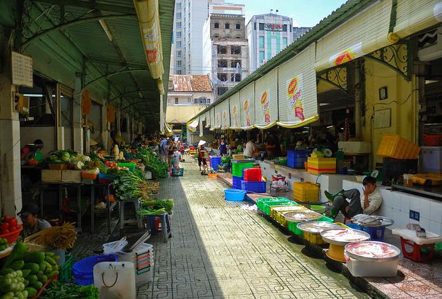 Du lịch Chợ Bến Thành