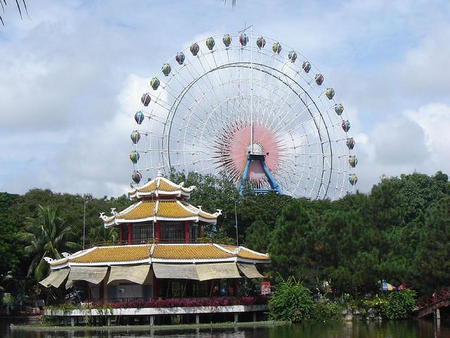 Du lịch công viên nước Đầm Sen