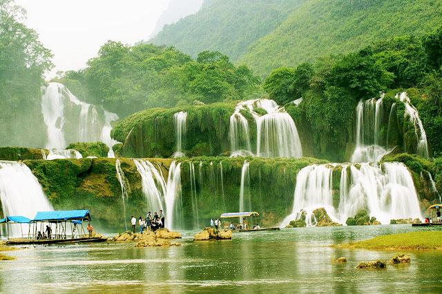 Du lịch Thác Bản Giốc Cao Bằng