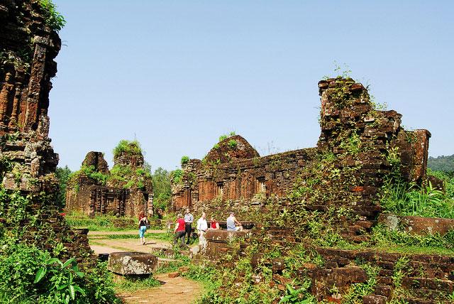 Du lịch thánh địa Mỹ Sơn Hội An