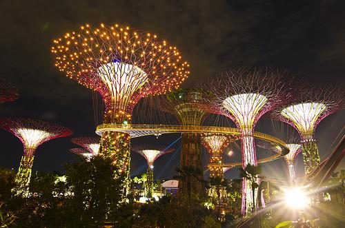 Du lịch Singapore, Vườn thực vật Garden by the Bay