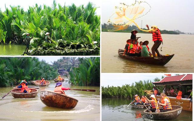 Du Lịch Rừng Dừa Bảy Mẫu Cẩm Thanh, Hội An