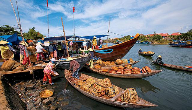 Du Lịch Sông Thu Bồn Hội An