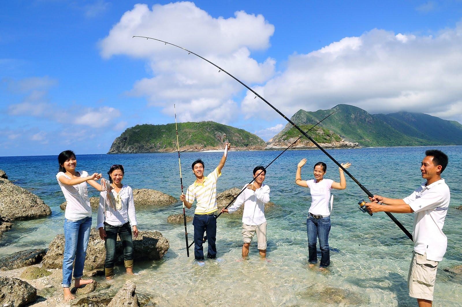 Câu cá tại Phú Quốc