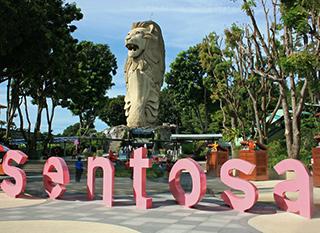 du lich Sentosa Singapore