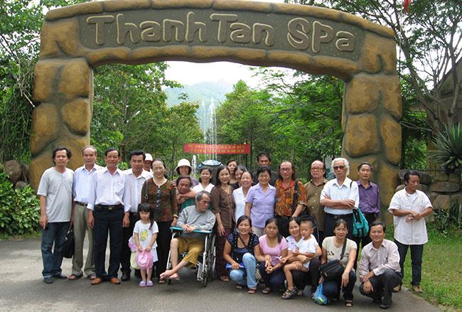 Du lịch suối khoáng Thanh Tân
